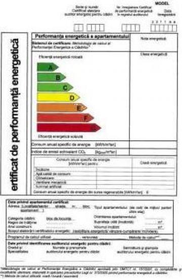Certificat energetic case cladiri de locuit, apartamente de la Alcesa Srl