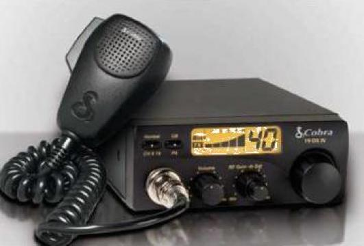 Statii radio CB emisie receptie Cobra de la Falcon Electronics Prod Srl
