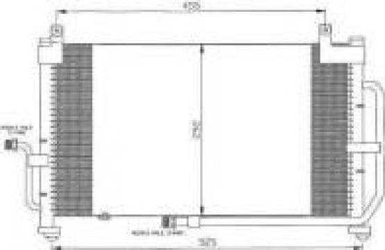 Radiator clima / condensor Matiz de la Alex & Bea Auto Group Srl
