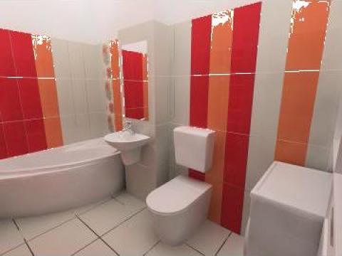 Amenajare baie bucuresti perfect art design srl id for Amenajare baie garsoniera