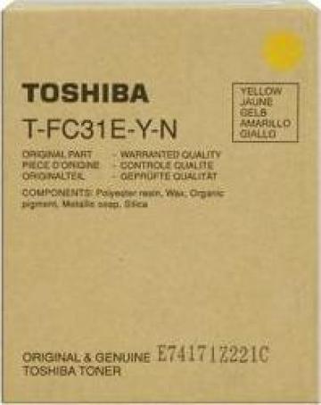 Cartus copiator original Toshiba T-FC31EY de la Green Toner