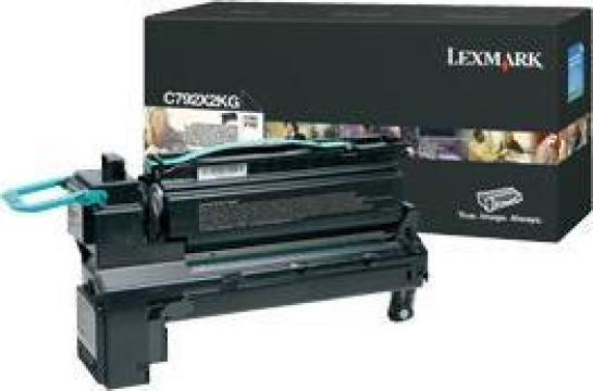 Cartus Imprimanta Laser Original LEXMARK C792X2KG de la Green Toner