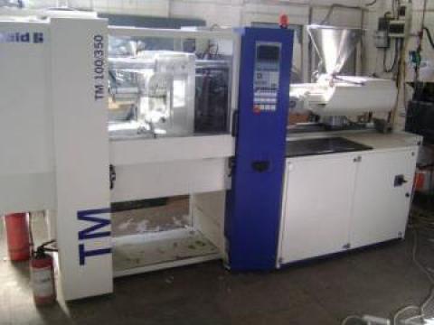 Masina de injectat mase plastice Battenfeld TM 100/350 de la Neco Plast Design Srl
