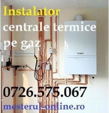 Centrale termice pe gaz de la Sc Montaj Centrale Termice SRL