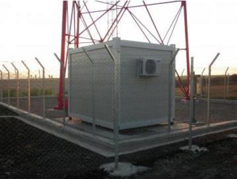 Containere pentru telecomunicatii Shelter de la Valahus Srl.