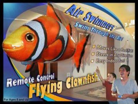 Jucarie Peste zburator cu telecomanda - Nemo Air Swimmers de la Solomobi Srl
