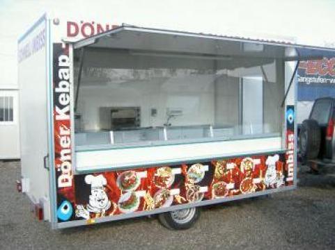 Rulota comerciala fast food