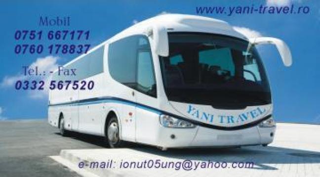 Bilete autocar Iasi Londra si retur de la Yani Travel SRL