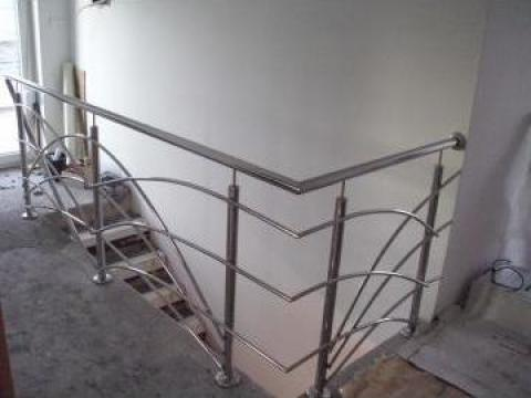 Balustrada inox, scari, Timisoara de la M & B Inox