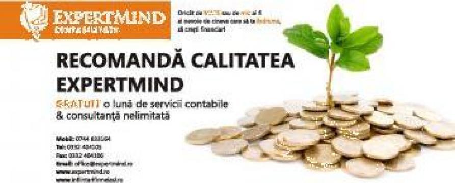 Infiintari firme SRL, SA, PFA, I.I. de la Expert Mind Srl