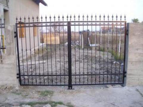 Porti, garduri fier forjat  Timisoara