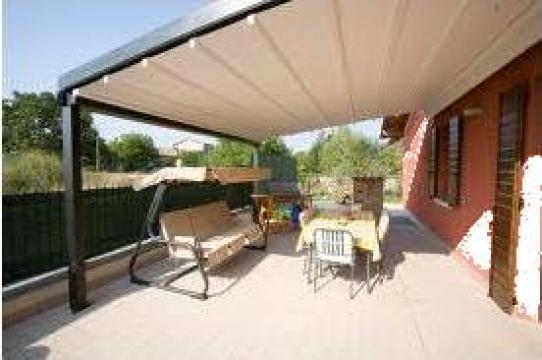 Pergola extensibila pentru terasa
