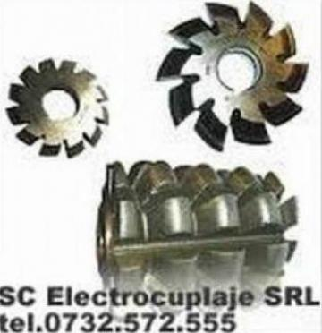 Freze deget din carbura metalica pentru canale de la Electrofrane