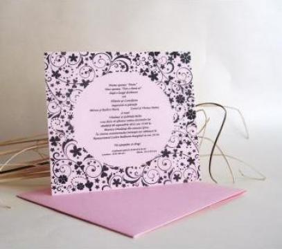 Invitatii nunta de la Invitatii De Nunta Botez Handmade
