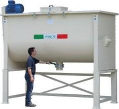 Mixer (amestecator) orizontal pentru fainuri de la APF Trade Srl