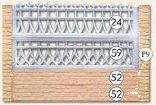 Gard beton cu fier forjat Nr. 24, 59, 52 de la Amonra Sun Srl