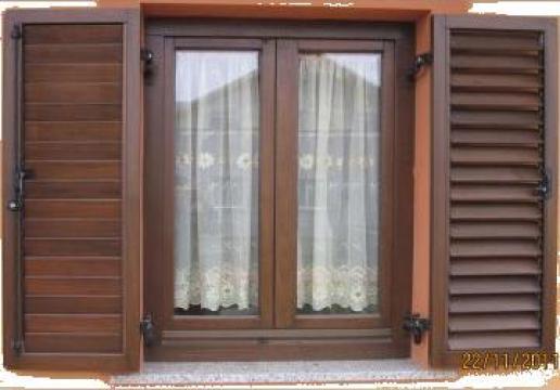 Obloane montate pe tocuri ferestre de la I. I. Gheorghita Ctin Neculai