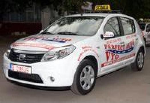 Cursuri scoala de soferi auto pe Dacia Sandero de la Perfect Auto Vyo
