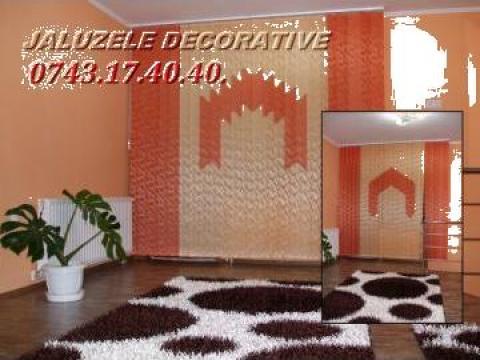 Jaluzele verticale decorative de la I. I. Suciu Calin Sorin