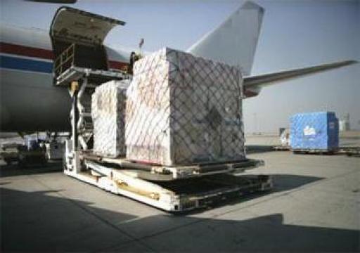 Transport aerian marfuri voluminoase