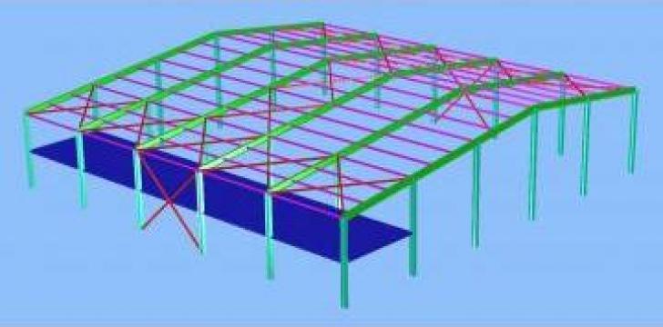 Consultanta in proiectarea si executia structurilor metalice de la Contrust