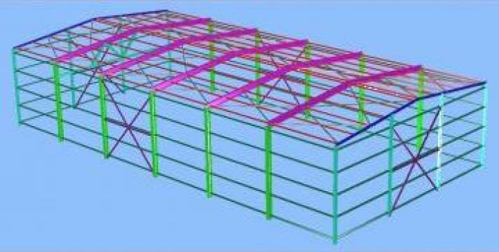 Executie constructii metalice, ansamble, subansamble hale