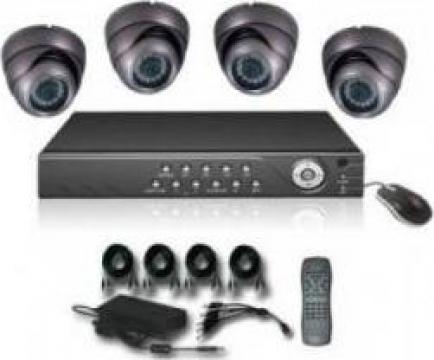 Kit supraveghere video - 4 camere DVR surse de alimentare de la Romania Security