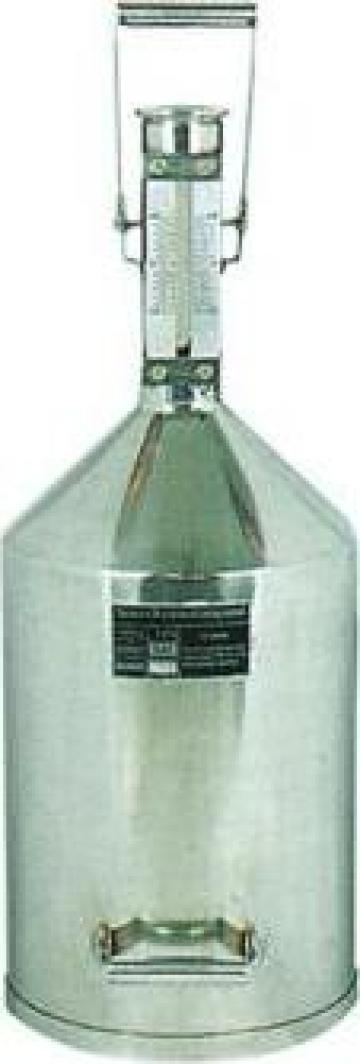 Instrument masura etalon 10litri inox