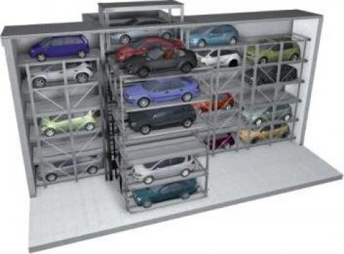 Parcare auto subterana Crossparker 558