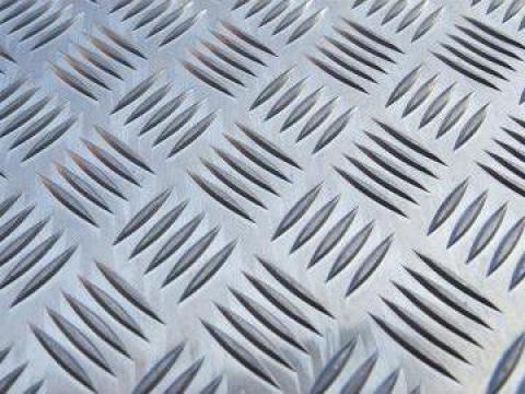 Tabla aluminiu striata Quintett 5x1000x2000mm