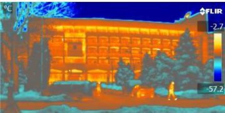 Scanari in infrarosu cladiri, instalatii - termoviziune de la I.I. Rusu Valentin