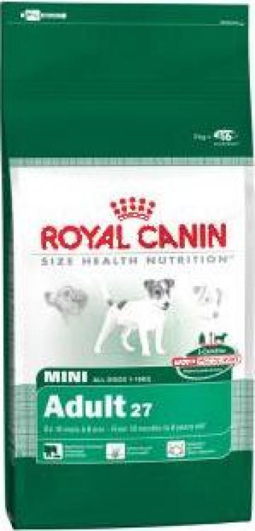 Hrana caini Royal Canin Mini Adult 8Kg de la Sc Sirupet Shop Srl