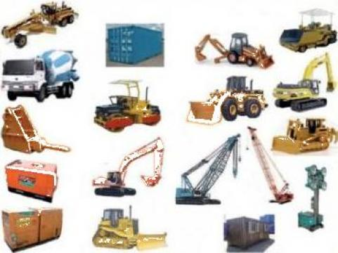 Piese schimb buldozere, excavatoare, incarcatoare frontale