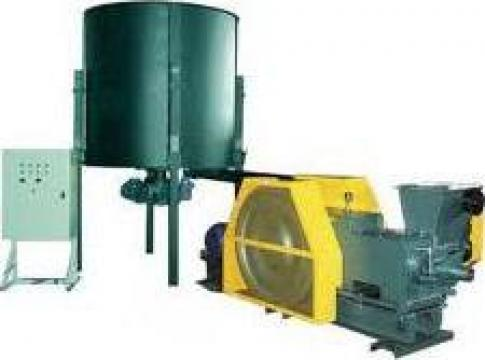 Linie brichetare 500 kg/h/1000 kg/h de la Mile Consulting Srl.
