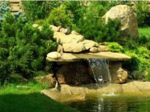 Amenajare gradini, cascade si lacuri