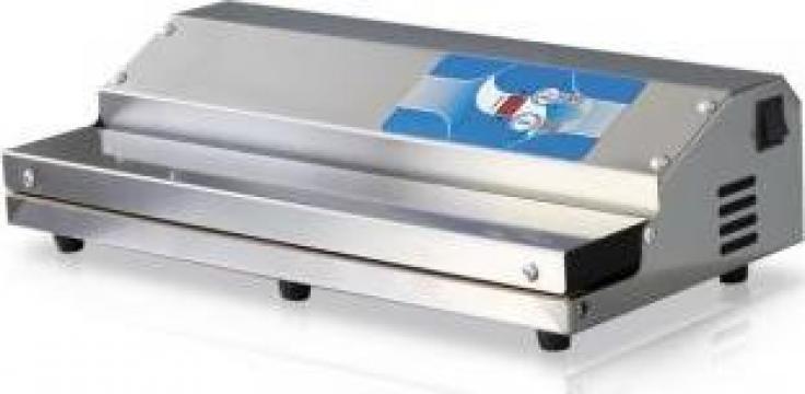 Masina ambalat sub vid Premium 450 Inox cu aspirare exterioa de la Tehno Food Com Serv Srl
