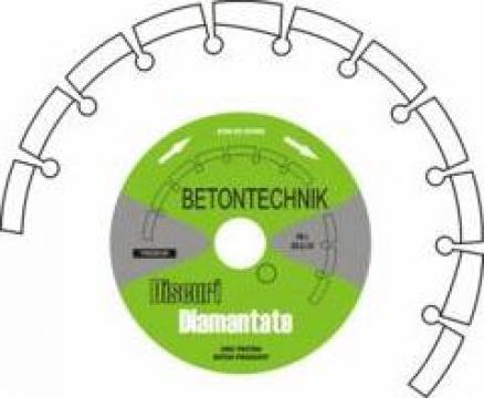 Disc diamantat pentru asfalt de la Baza Tehnica Alfa Srl