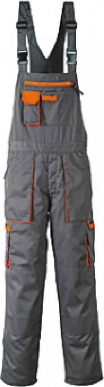 Pantaloni salopeta bicolori