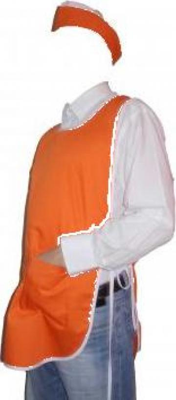 Sort dublu portocaliu fata spate de la Johnny Srl.