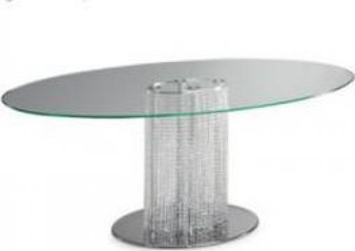 Masa sticla sufragerie Murano