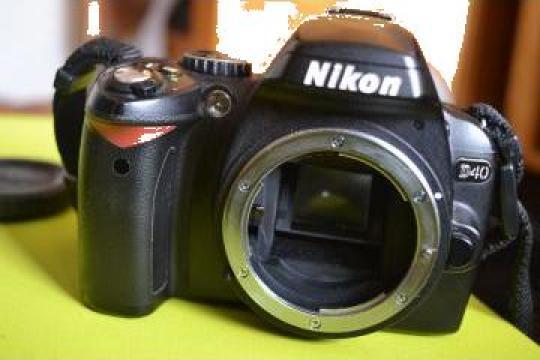 Camera foto digitala DSLR Nikon D40 body + geanta Qpak de la
