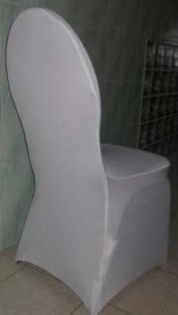 Husa de scaun din licra pentru scaun rotund