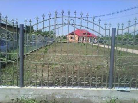 Garduri metalice cu bordura de beton de la Pfa Cirstica Florin