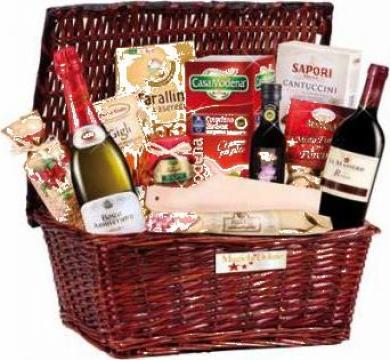 Cos cadou Vespucci pentru Sf. Valentin si Dragobete de la Italian Market Distribution