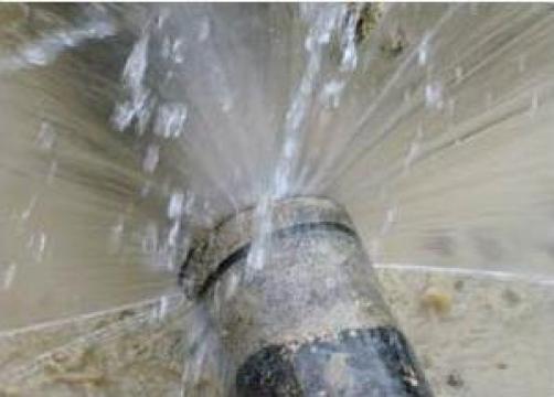 Instalatii sanitare, inlocuiri conducte apa