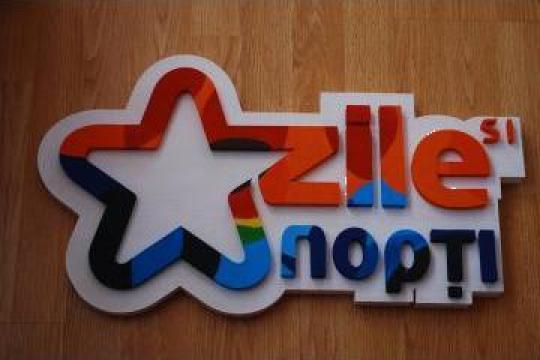 Logo-uri personalizate, litere volumetrice din polistiren