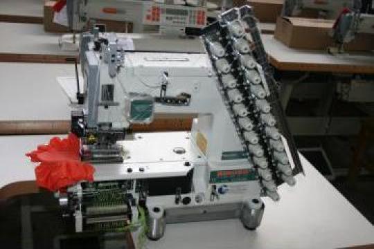 Masina de cusut Shirring Siruba VC008-12064P/VPQ-K de la Good Style Srl