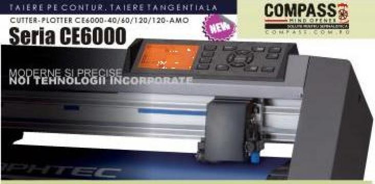 Cutter-plotter taiere tangentiala Graphtec CE6000-120 de la Compass Srl