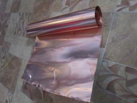 Banda cupru CW004A (CU-ETP) 0.2x300 mm de la Baza Tehnica Alfa Srl