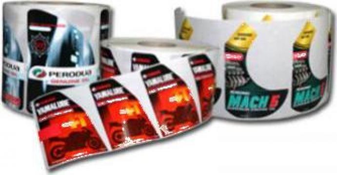 Etichete autocolante in rola de la Fabrica De Ambalaje Exonia Holding SRL